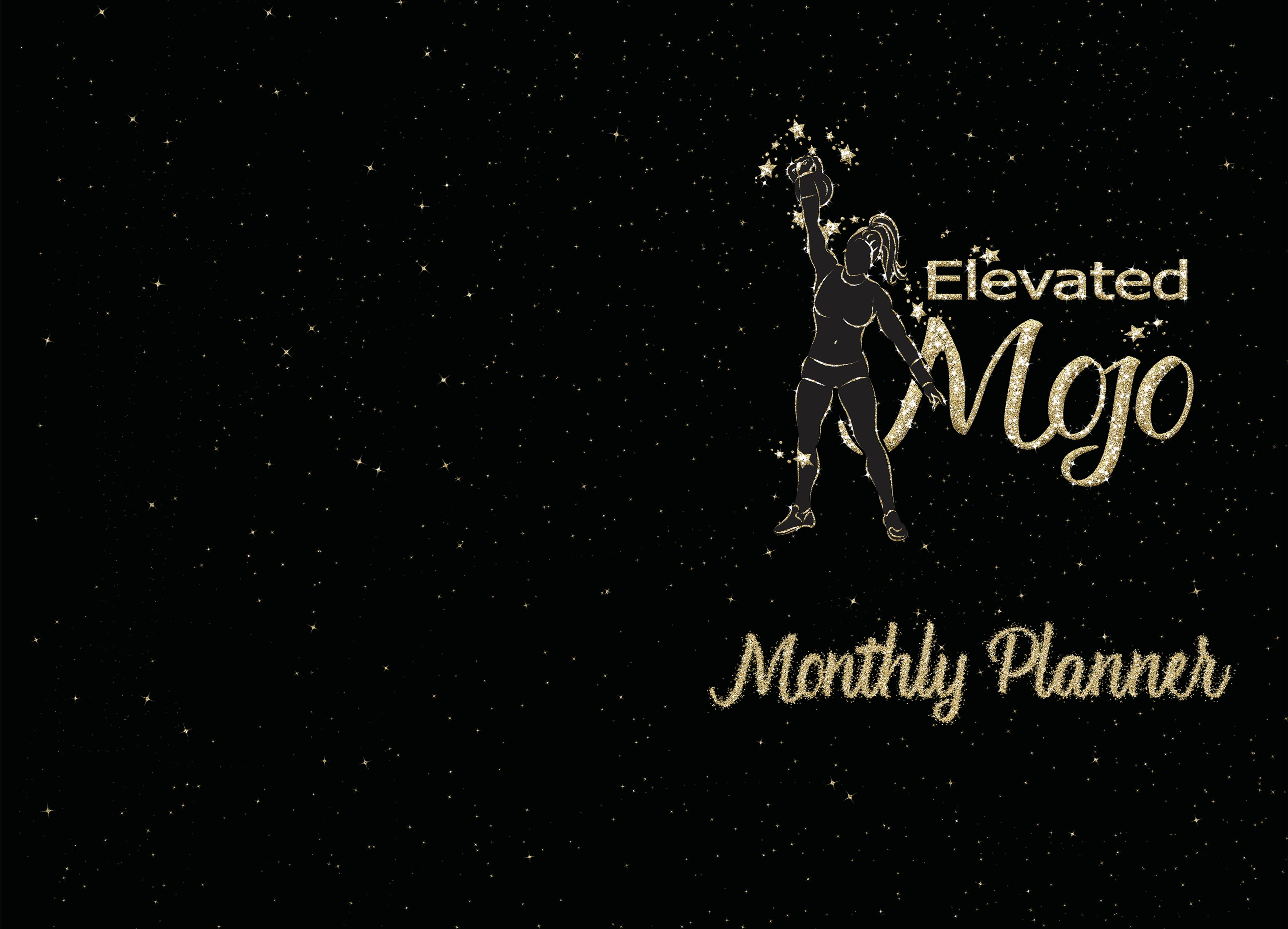 Elevated Mojo Monthly Planner cover image