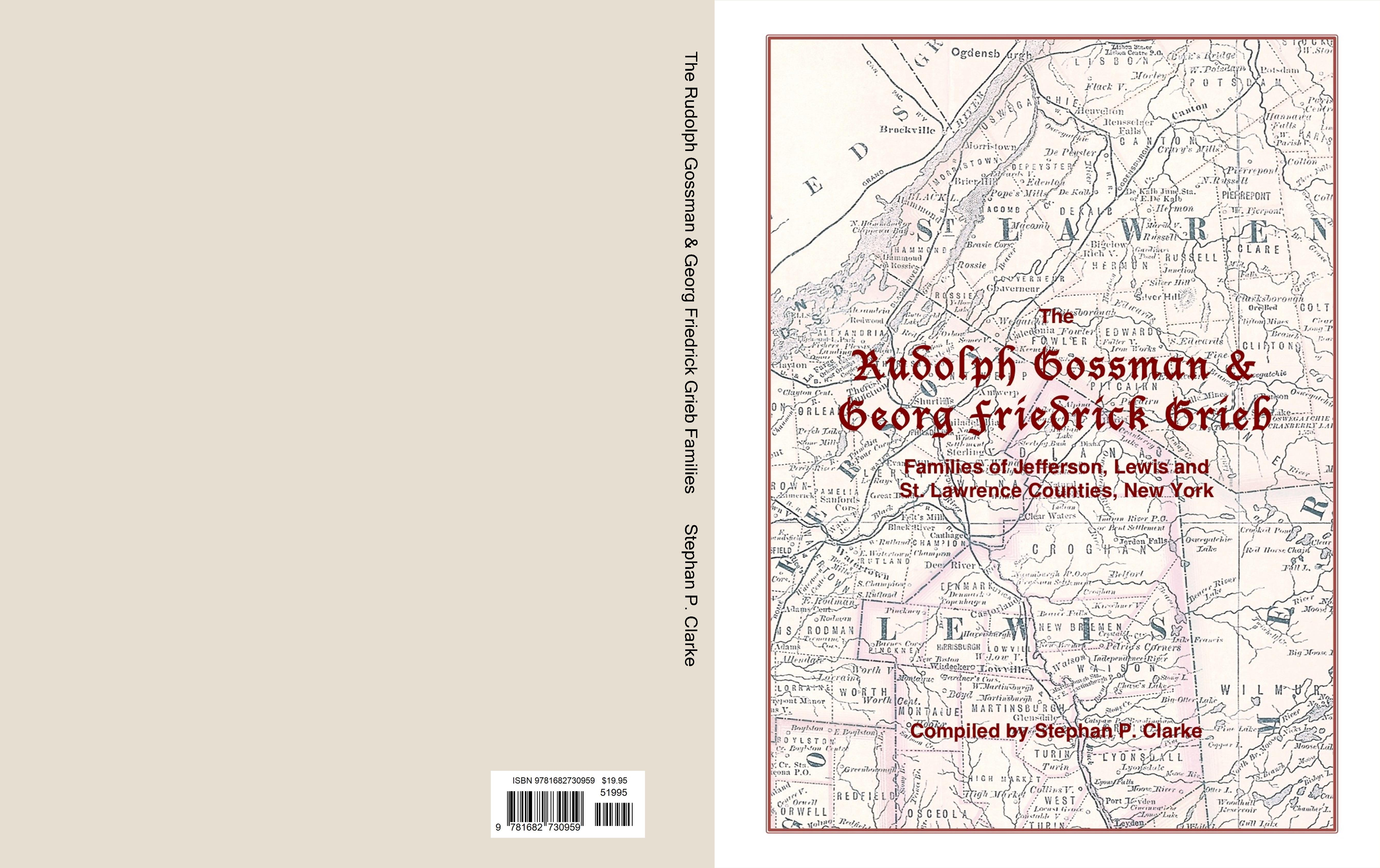 The Rudolph Gossman & Georg Friedrick Grieb Families cover image