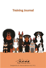Dog Training Journal cover image