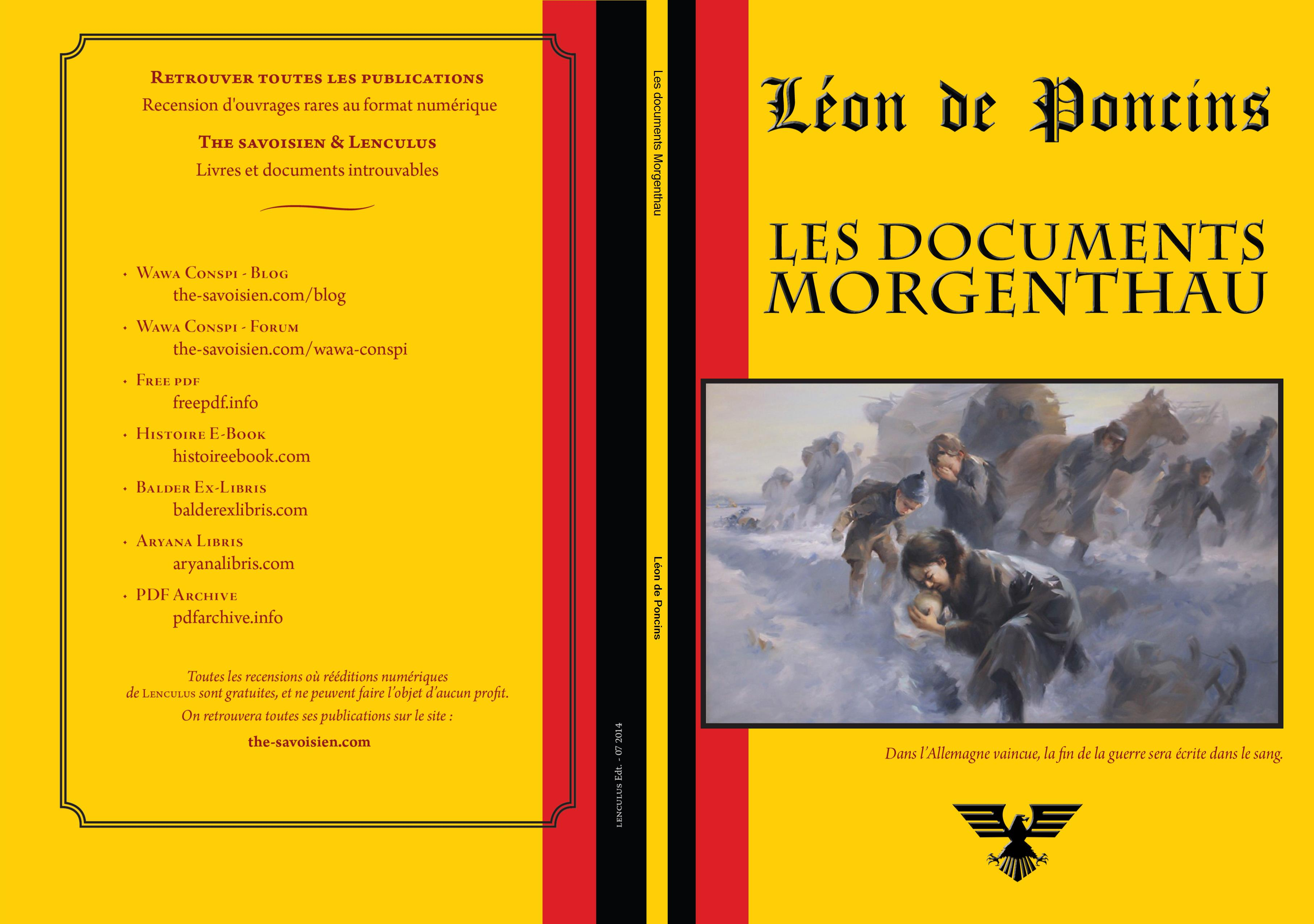 Les documents Morgenthau cover image