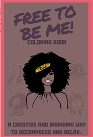 Mindfulness Coloring for Black Girls (crown) cover image