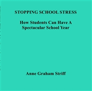 STOPPING SCHOOL STRESS - How To Have A Spectacular School Year cover image