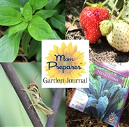 Mom Prepares Garden Journal cover image