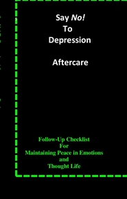 Say No! To Depression Aftercare cover image