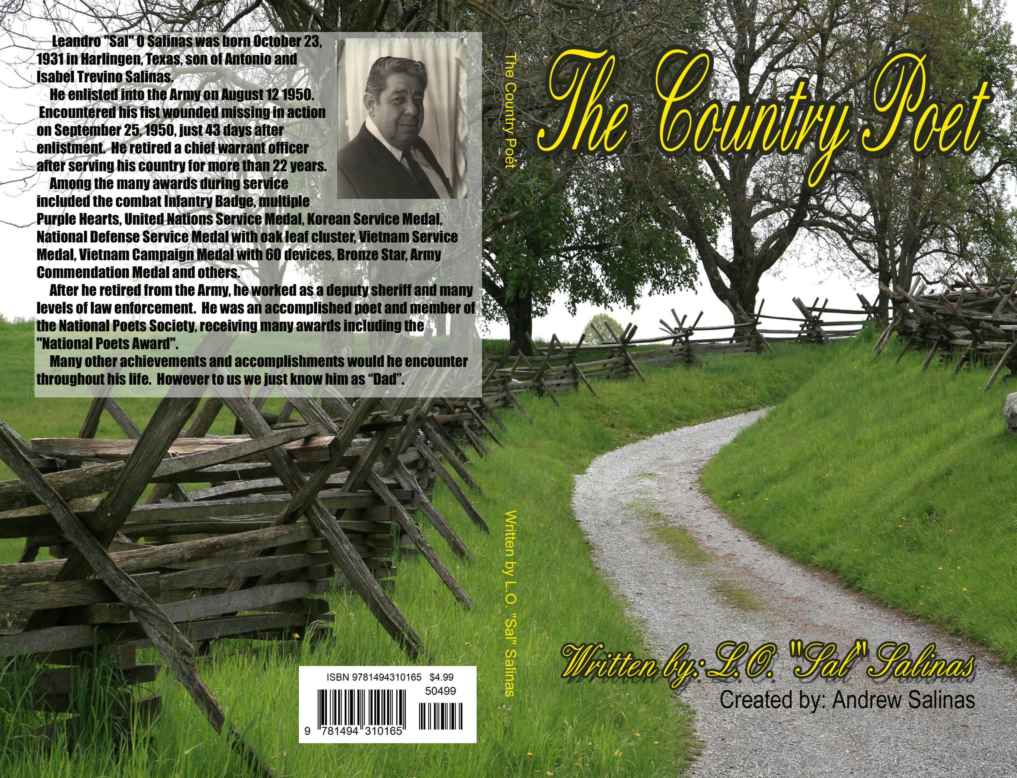 "The Country Poet - L.O. ""Sal"" Salinas cover image"
