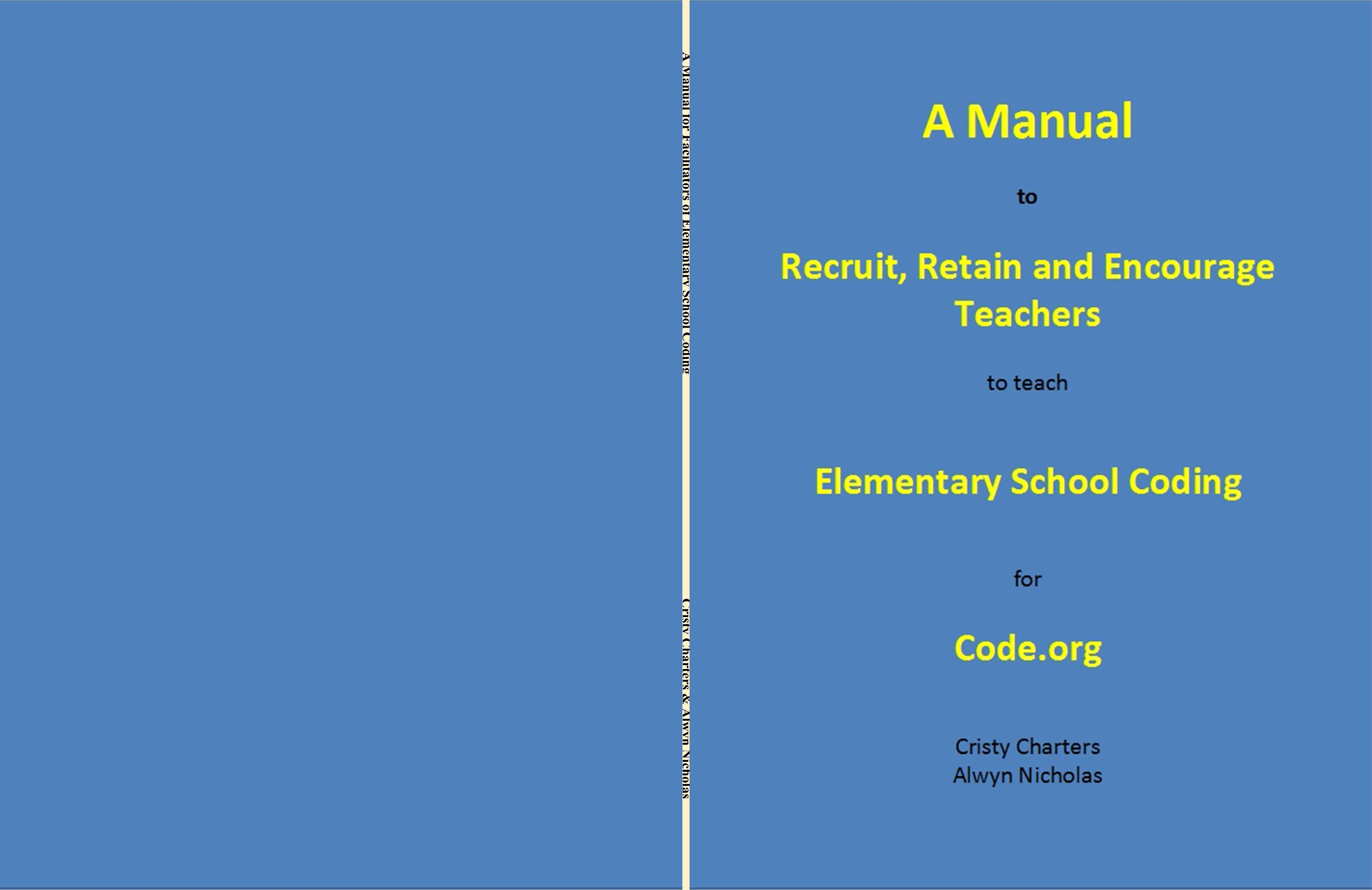 A Manual for Facilitators of Elementary School Coding cover image
