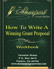 How to Write a Winning Grant Proposal Workbook cover image