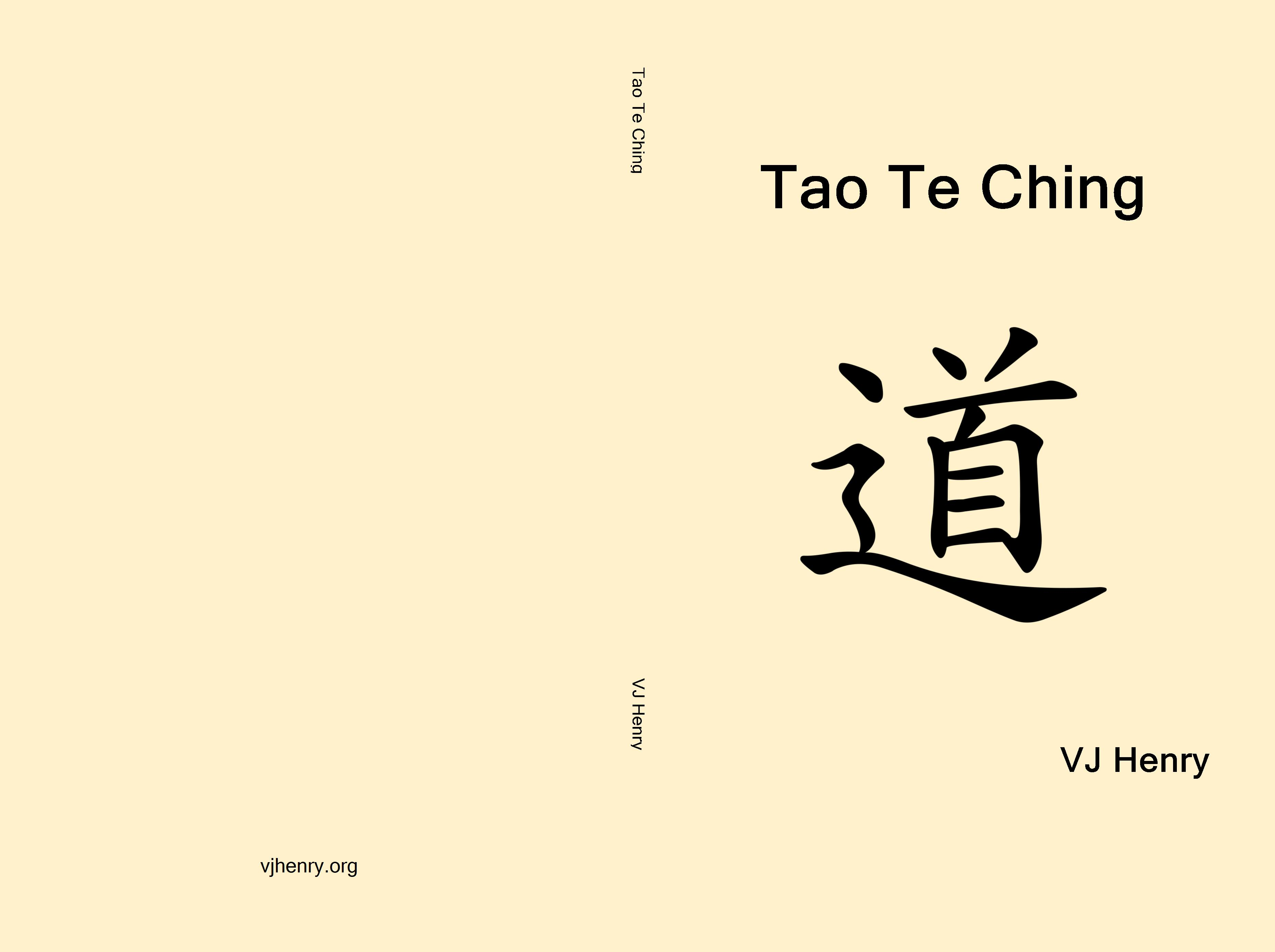 tao te ching Tao te ching - lao tzu - chapter 38 a truly good man is not aware of his goodness, and is therefore good a foolish man tries to be good, and is therefore not good.