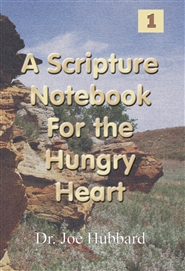 A Scripture Notebook for the Hungry Heart cover image