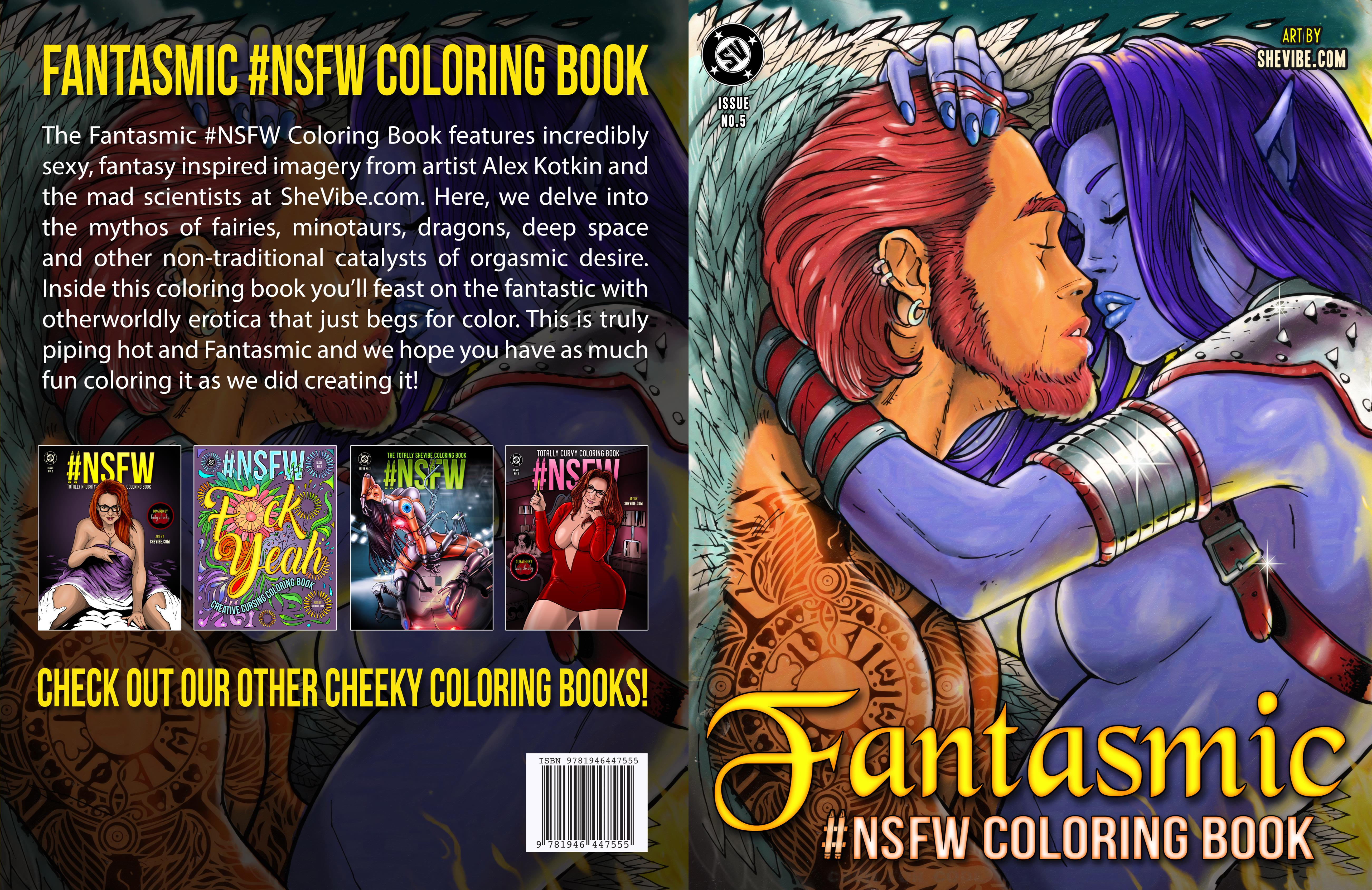 Fantasmic #NSFW Coloring Book (Issue 5) cover image