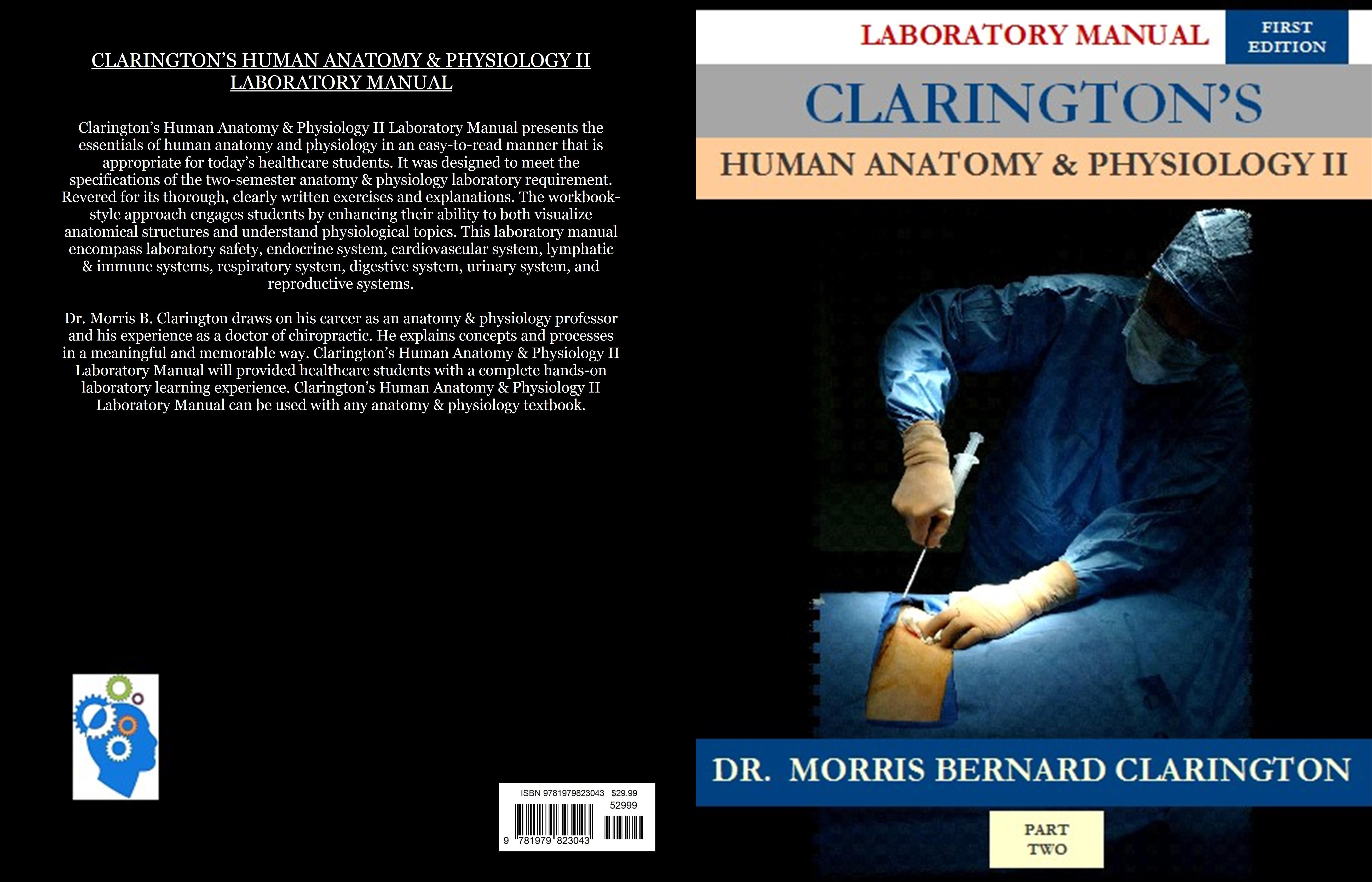 Clarington\'s Human Anatomy & Physiology II Laboratory Manual by ...