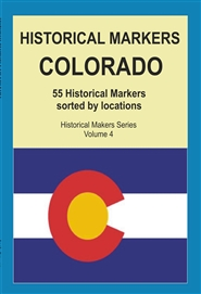 Historical Markers COLORADO cover image