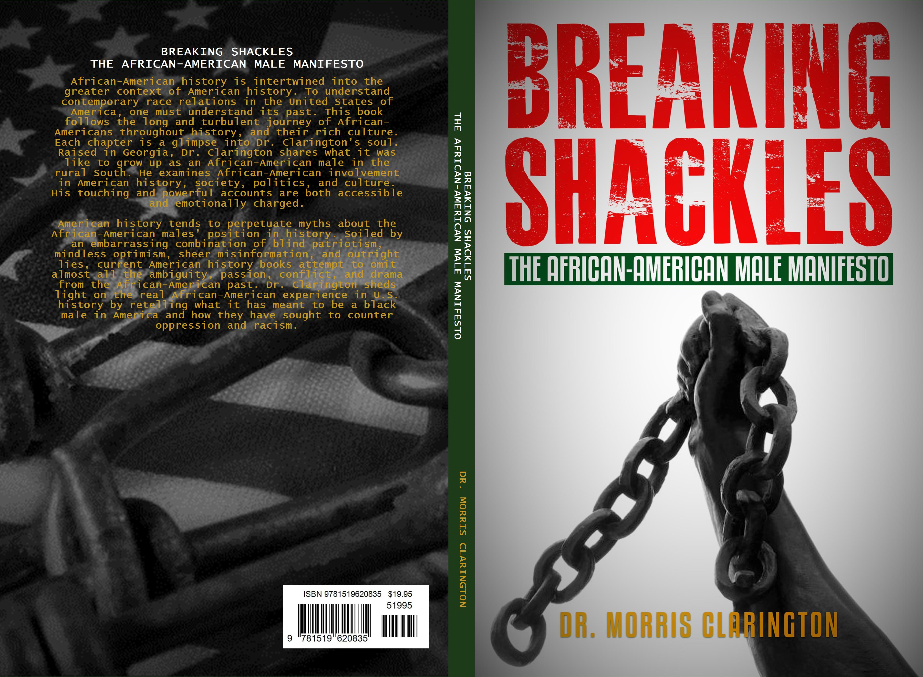 BREAKING SHACKLES THE AFRICAN-AMERICAN MALE MANIFESTO cover image