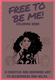 Mindfulness Coloring for Black Girls (curls) cover image