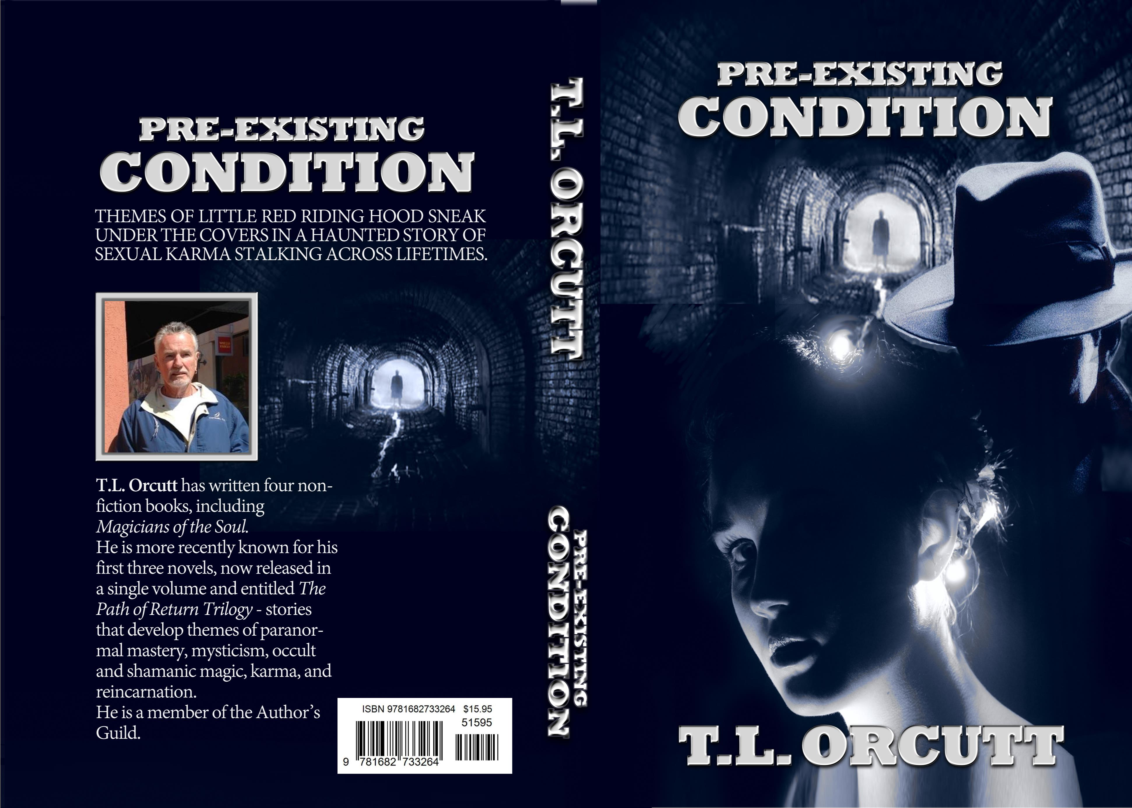 PRE-EXISTING CONDITION - A NOVEL cover image