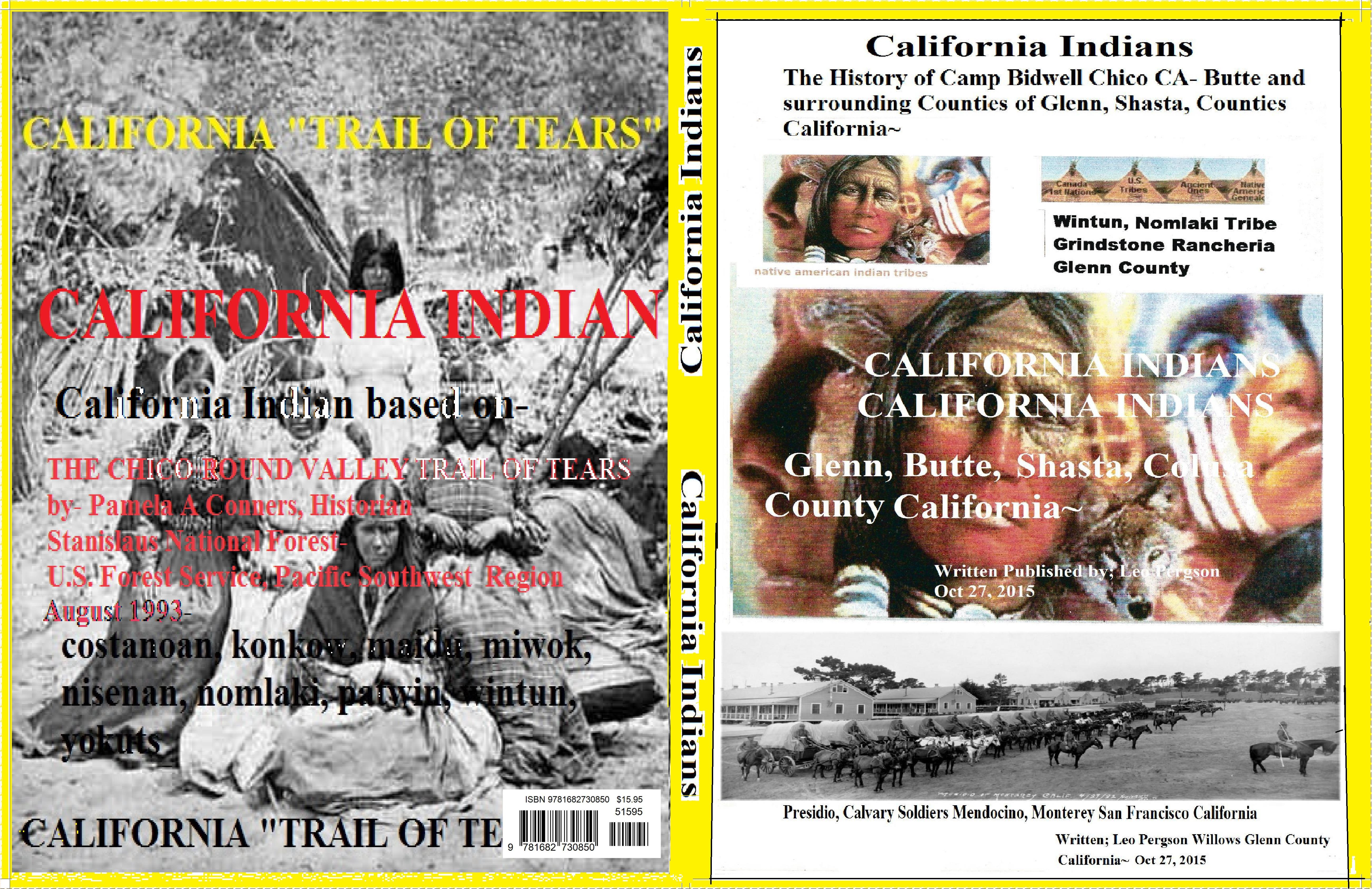CALIFORNIA INDIAN TRAIL OF TEARS- NOMLAKI-WINTUN-MESHOOPTA- cover image