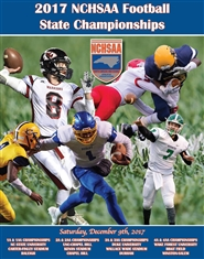 2017 NCHSAA Football Championship Yearbook cover image