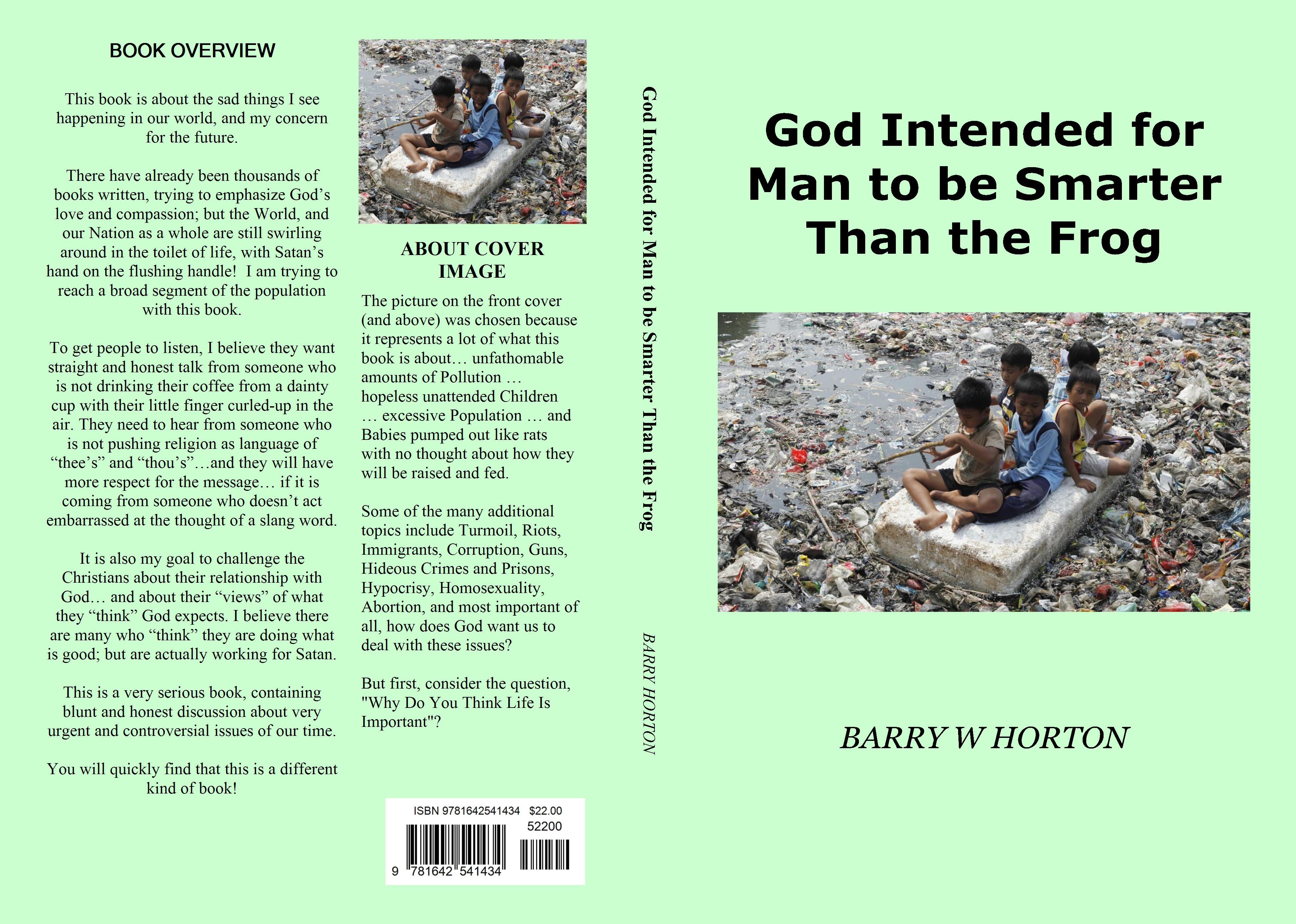 God Intended for Man to be Smarter Than the Frog cover image