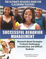 EDCO Successful Behavior Management - A Guide for Teachers cover image