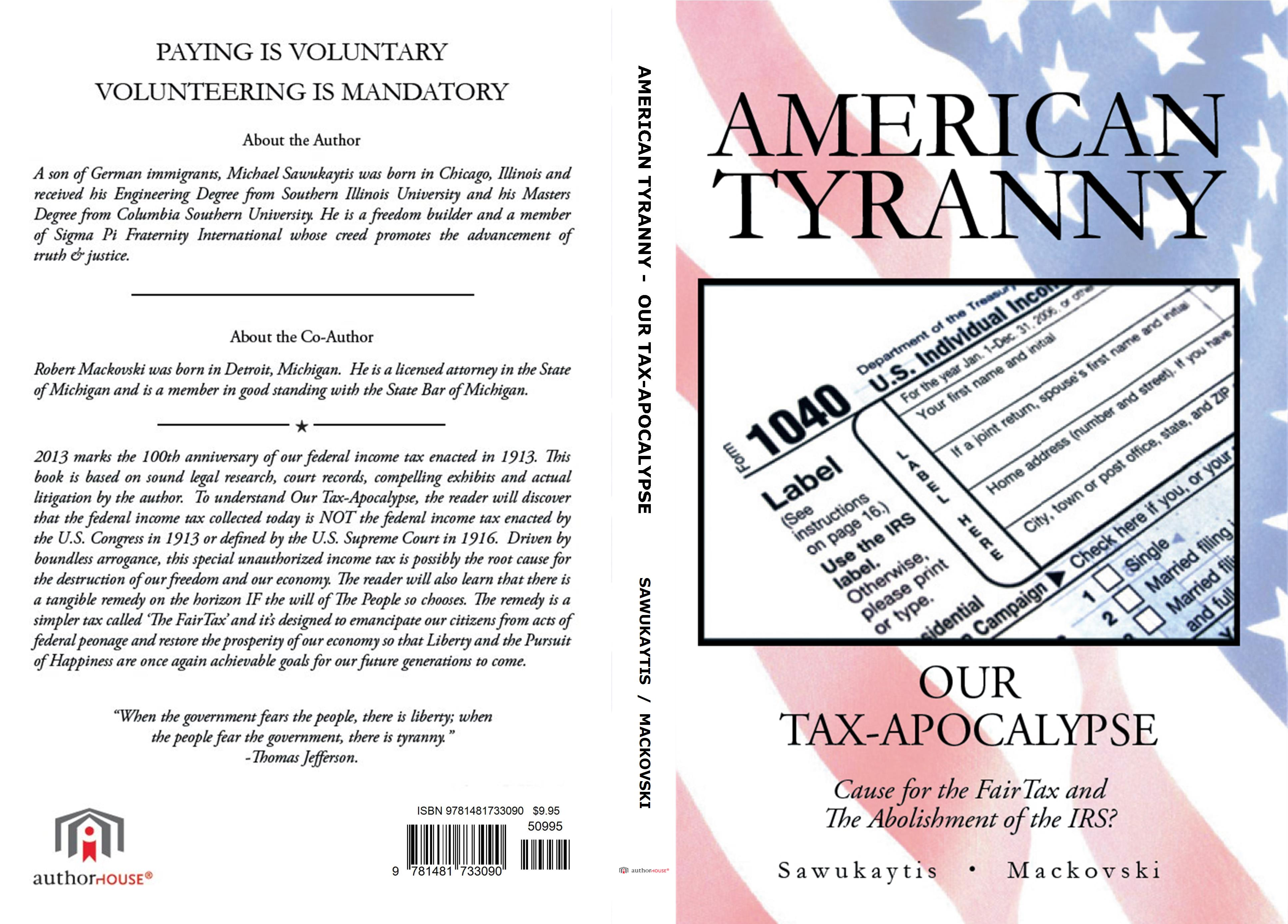 AMERICAN TYRANNY cover image