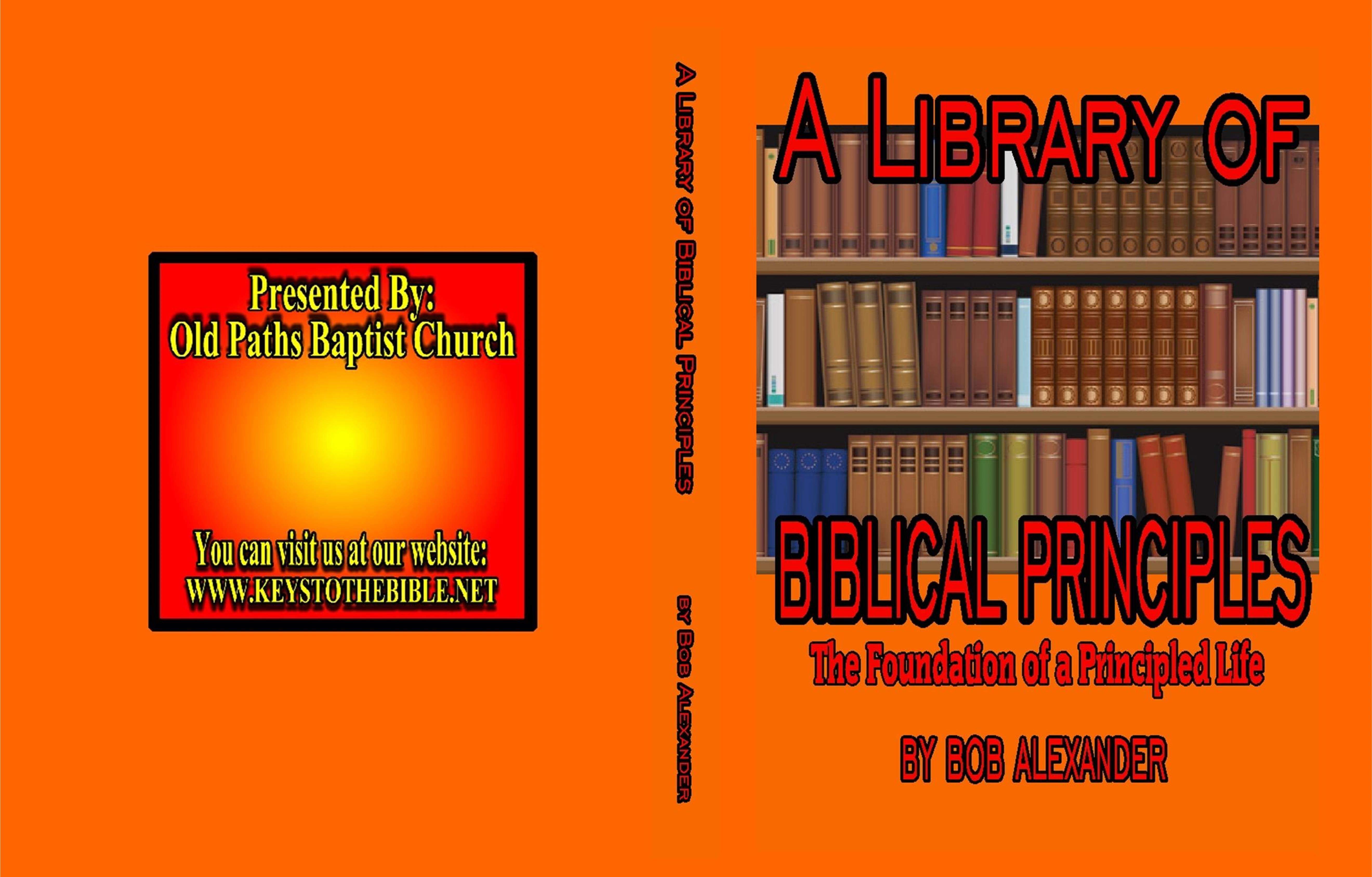 A Library of Biblical Principles cover image