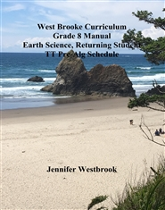 West Brooke Curriculum Grade 8 Manual Earth Science, Returning Student TT Pre-Alg Schedule cover image