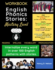 English Phonics Stories: MASTERY LEVEL - WORKBOOK cover image