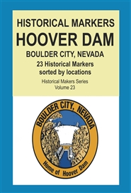 Historical Markers HOOVER DAM cover image