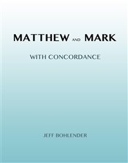 Matthew and Mark with Concordance cover image
