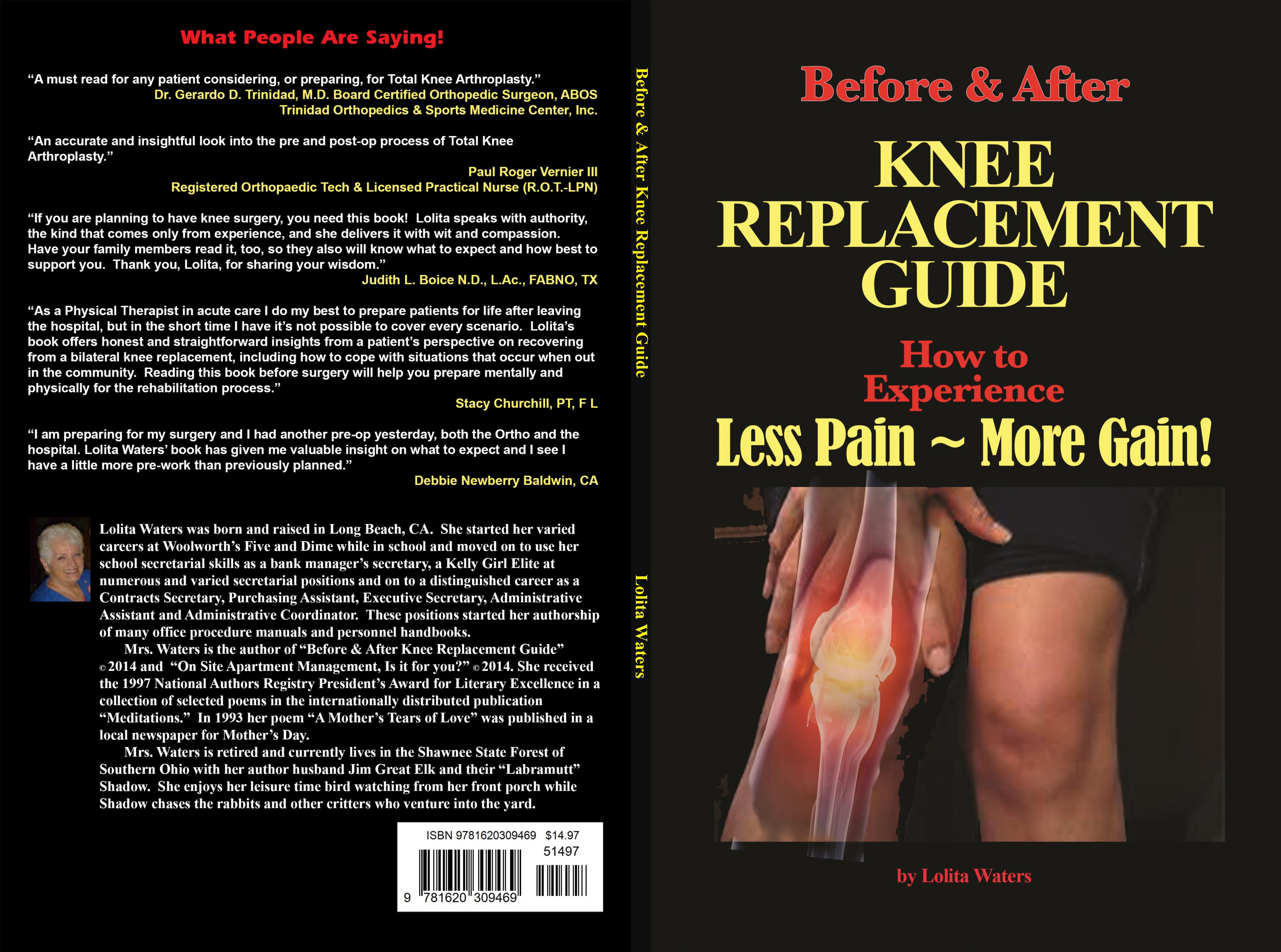 Double Knee Replacement - Tips for Less Pain & More gain! cover image