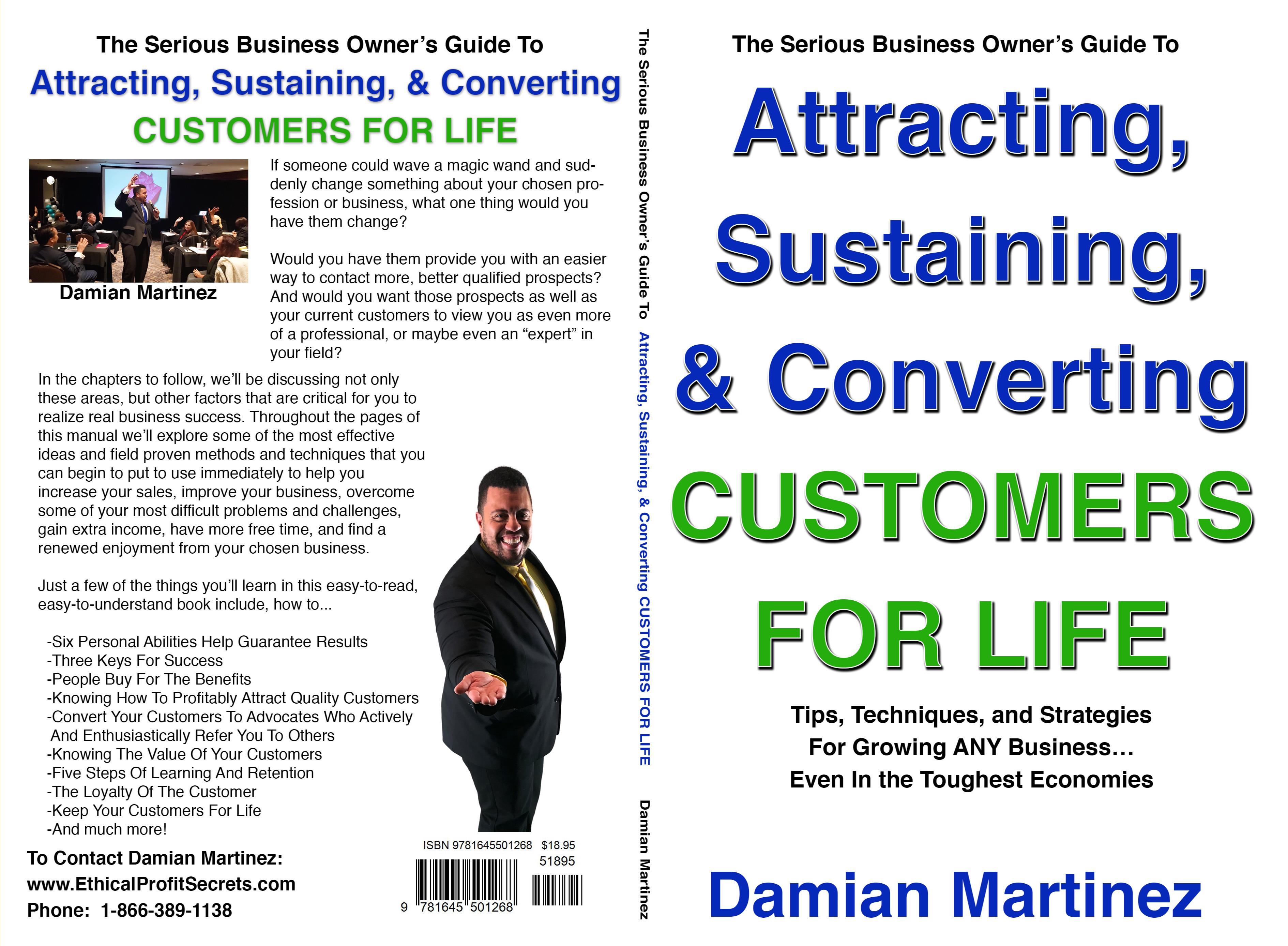 Attracting, Sustaining, & Converting CUSTOMERS FOR LIFE cover image