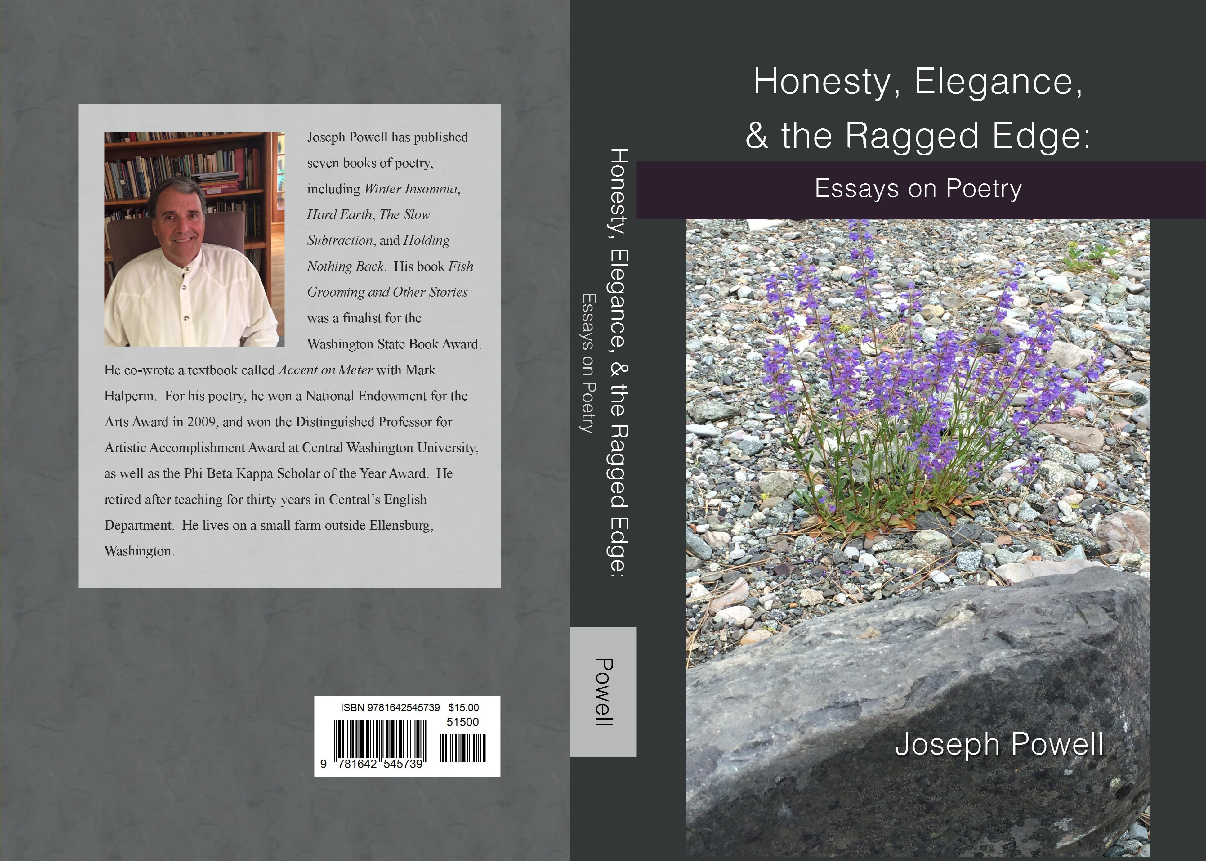 Honesty Elegance  The Ragged Edge Essays On Poetry By Joseph   Honesty Elegance  The Ragged Edge Essays On Poetry Cover Image