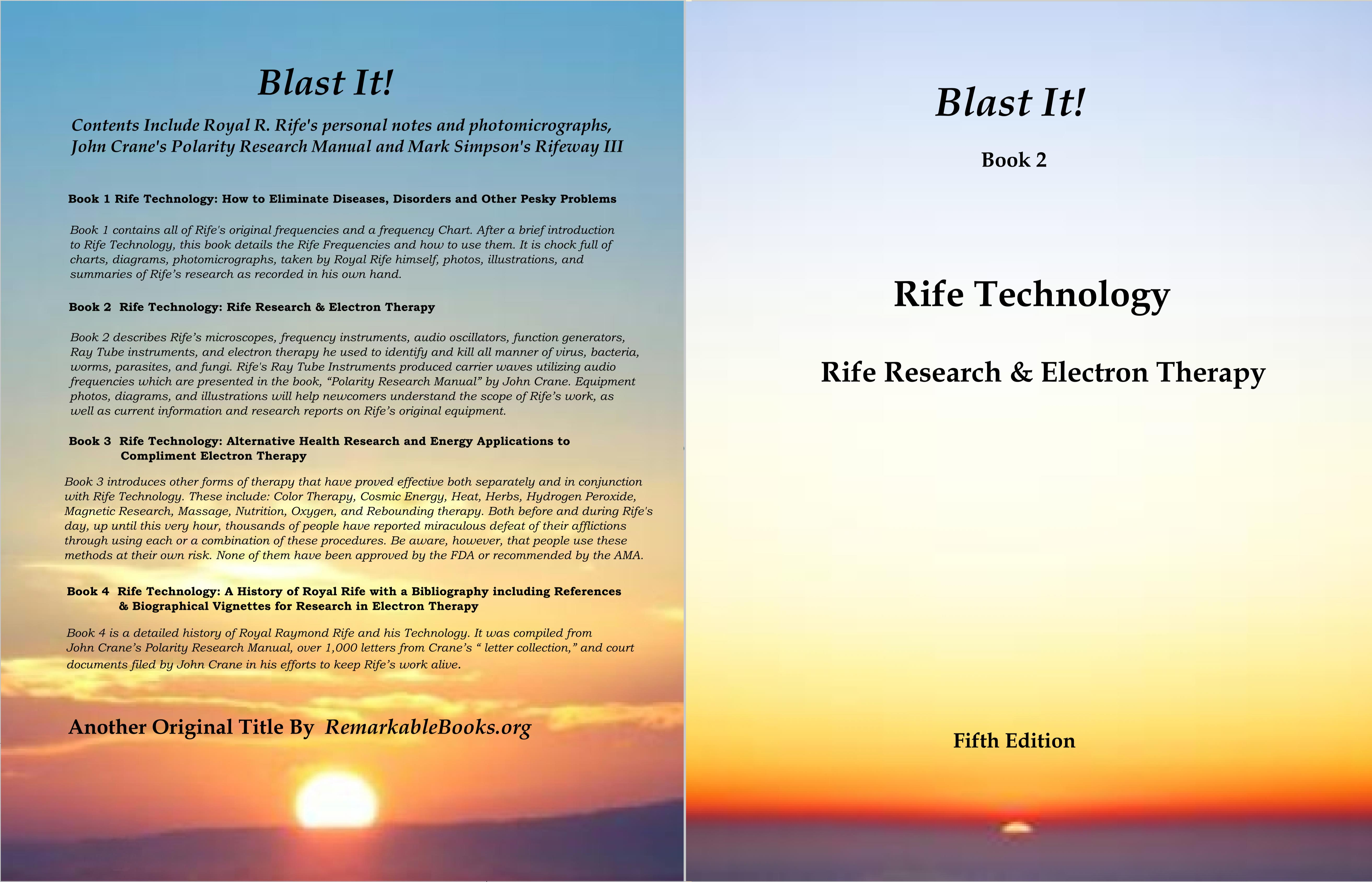 Blast It! Rife Technology - Book 2 cover image