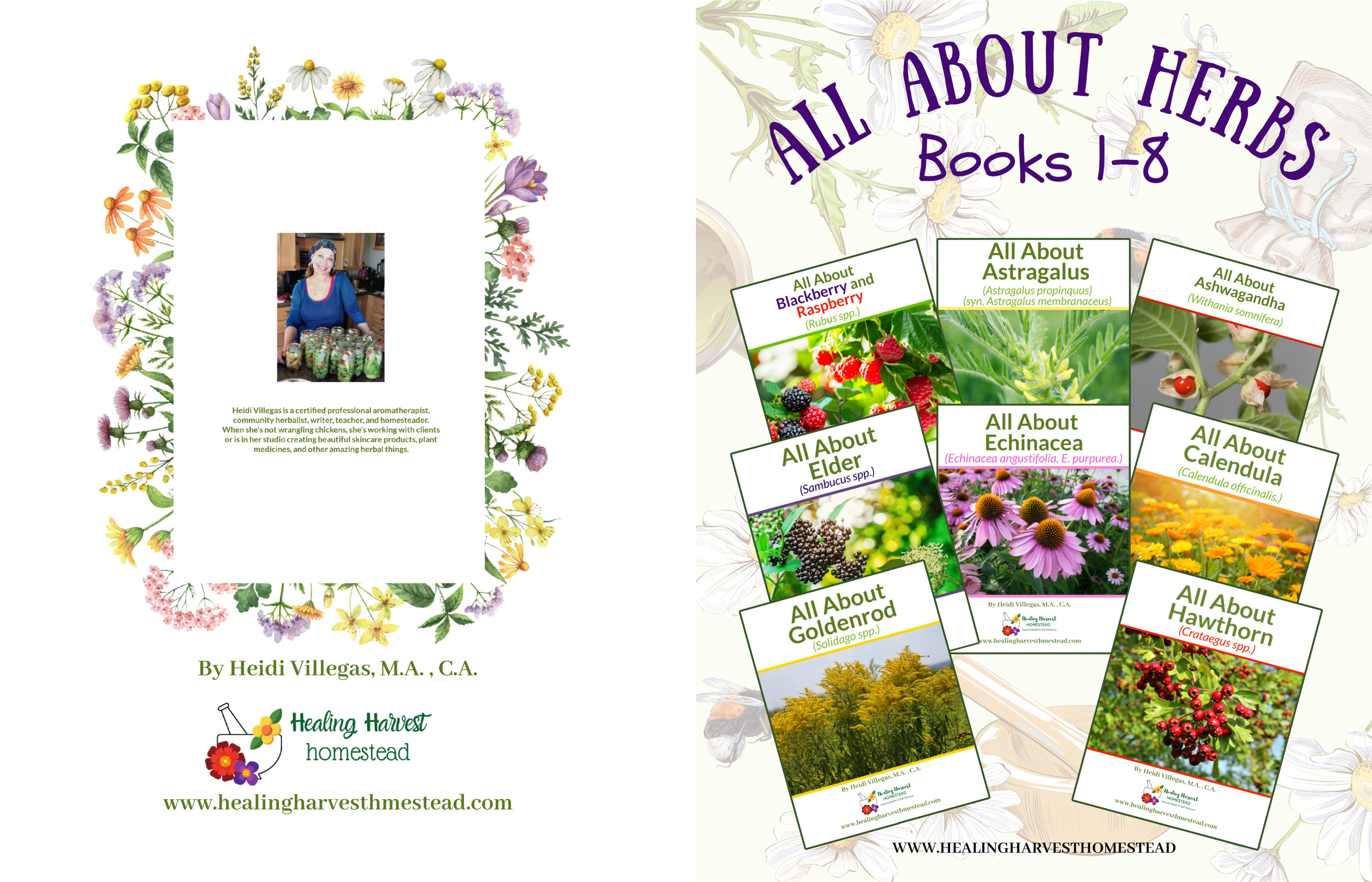 All About Herbs Books 1-8 cover image