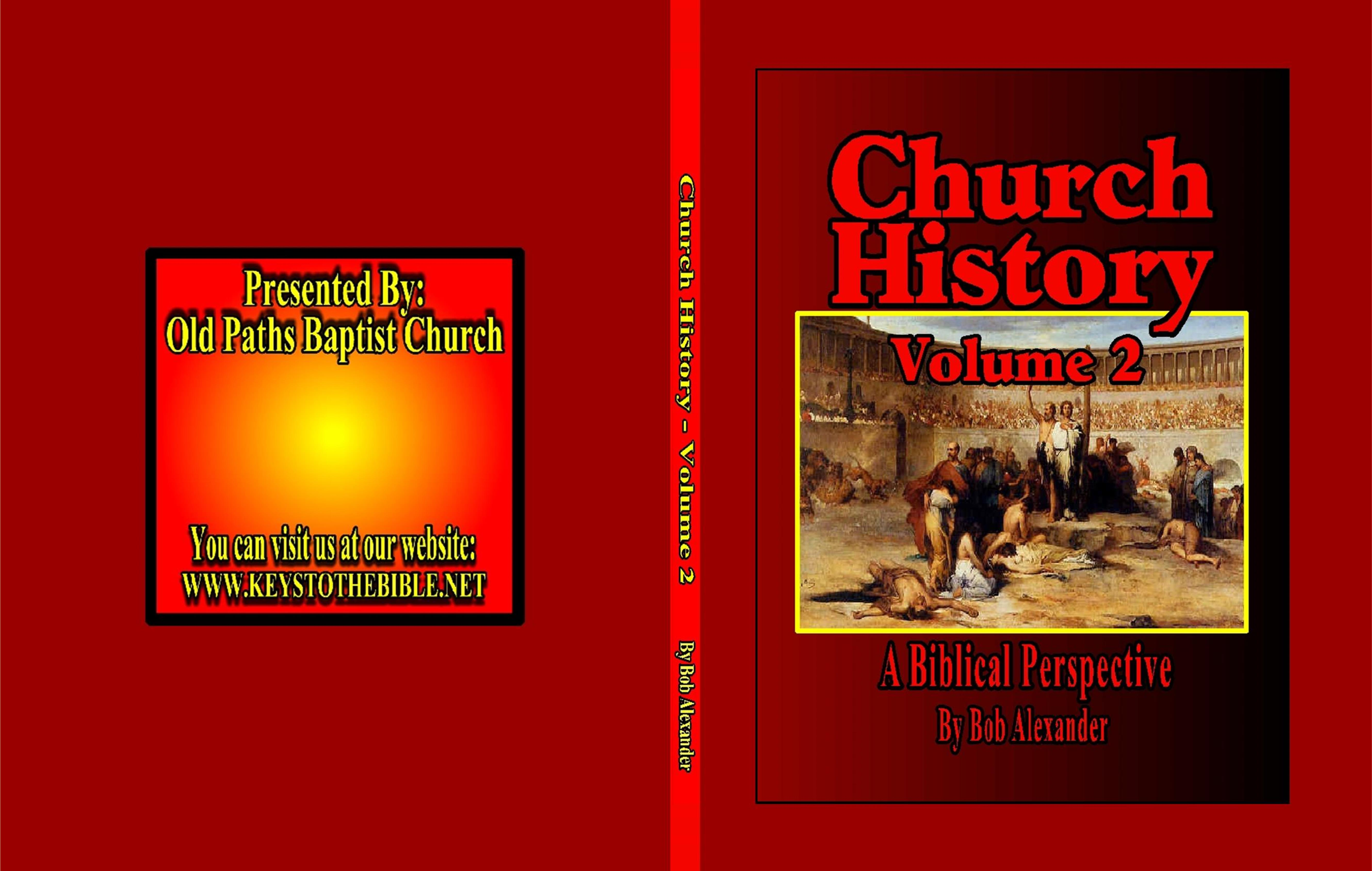 Church History - Volume 2 cover image