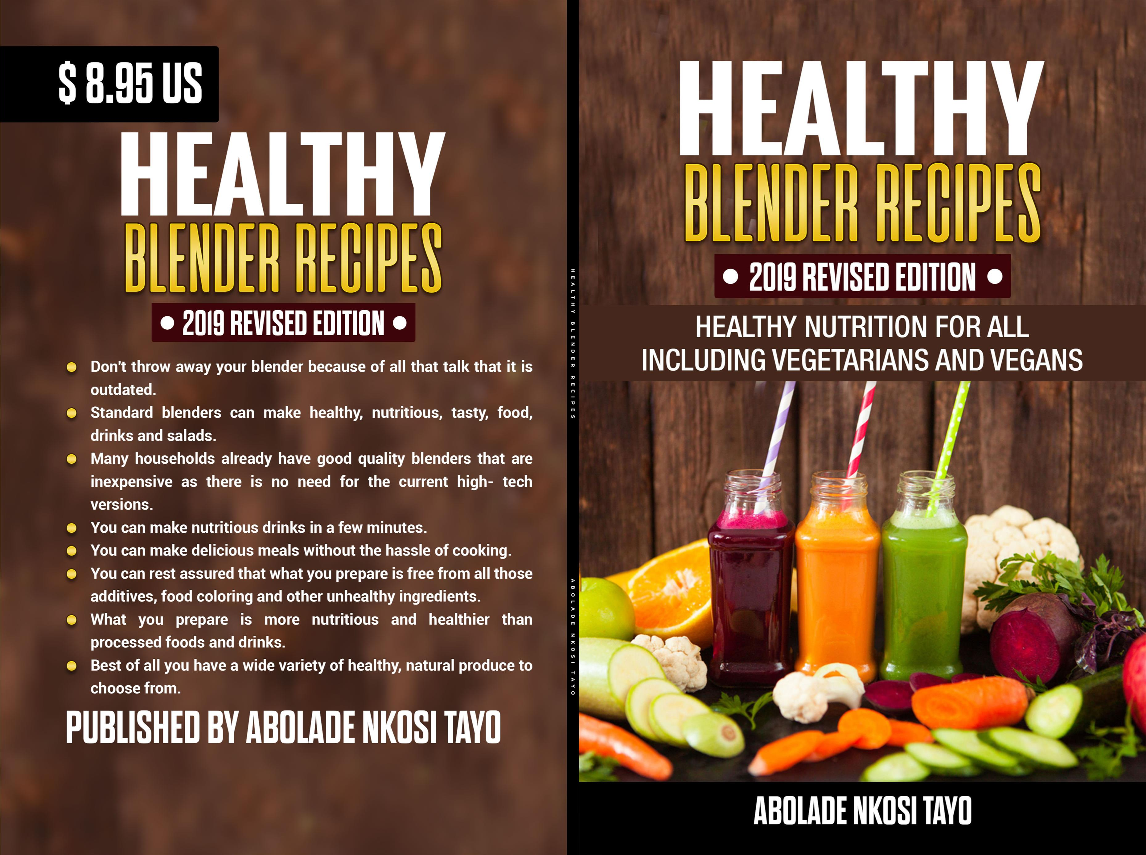 HEALTHY BLENDER RECIPES 2019 REVISED EDITION cover image