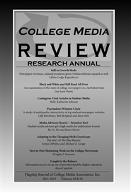 College Media Review Research Annual 2012 | 2013 cover image