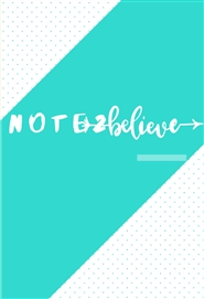 Note2Believe cover image