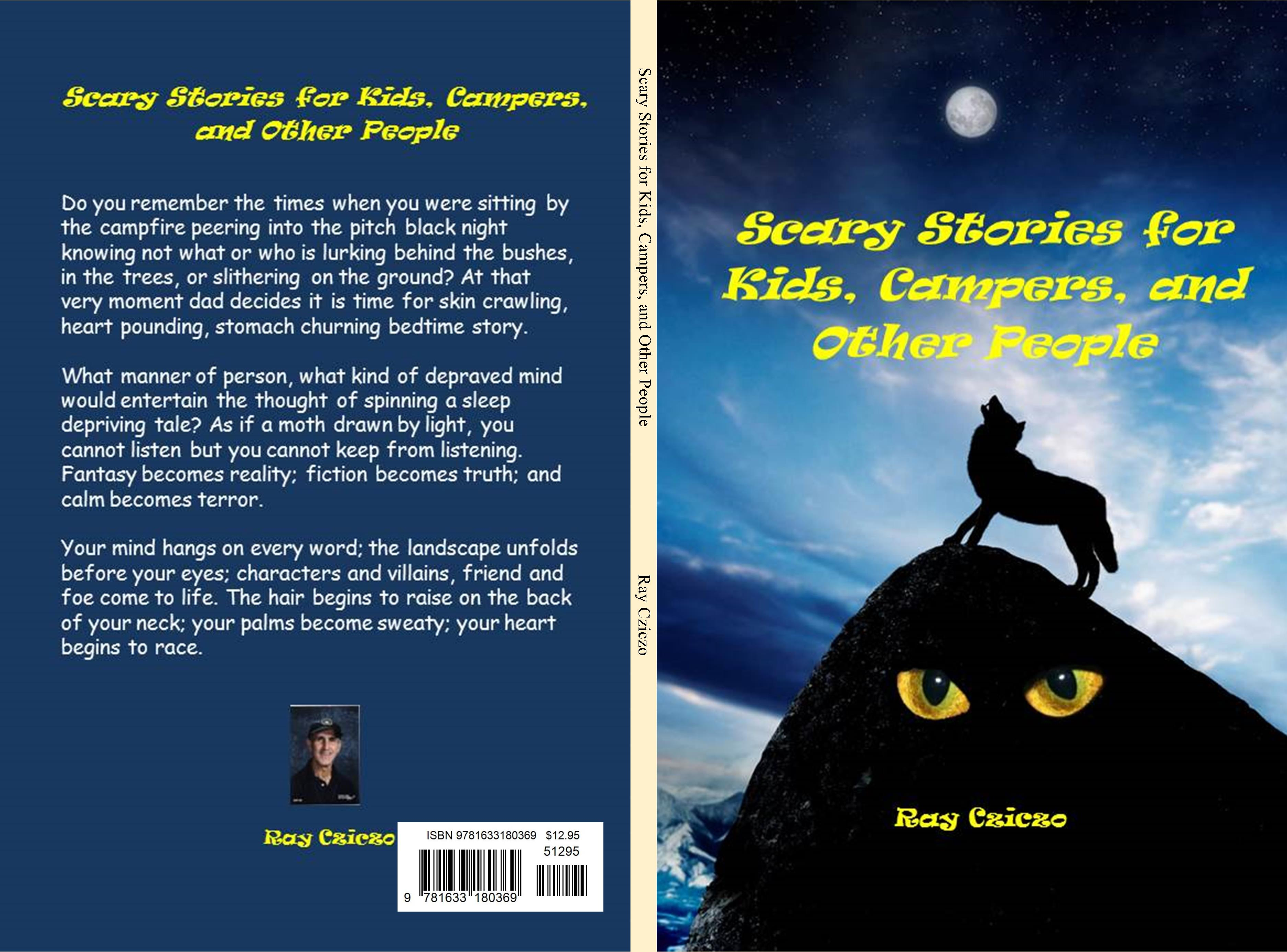 Uncategorized Scary Story Kids scary stories for kids campers and other people by ray cziczo cover image