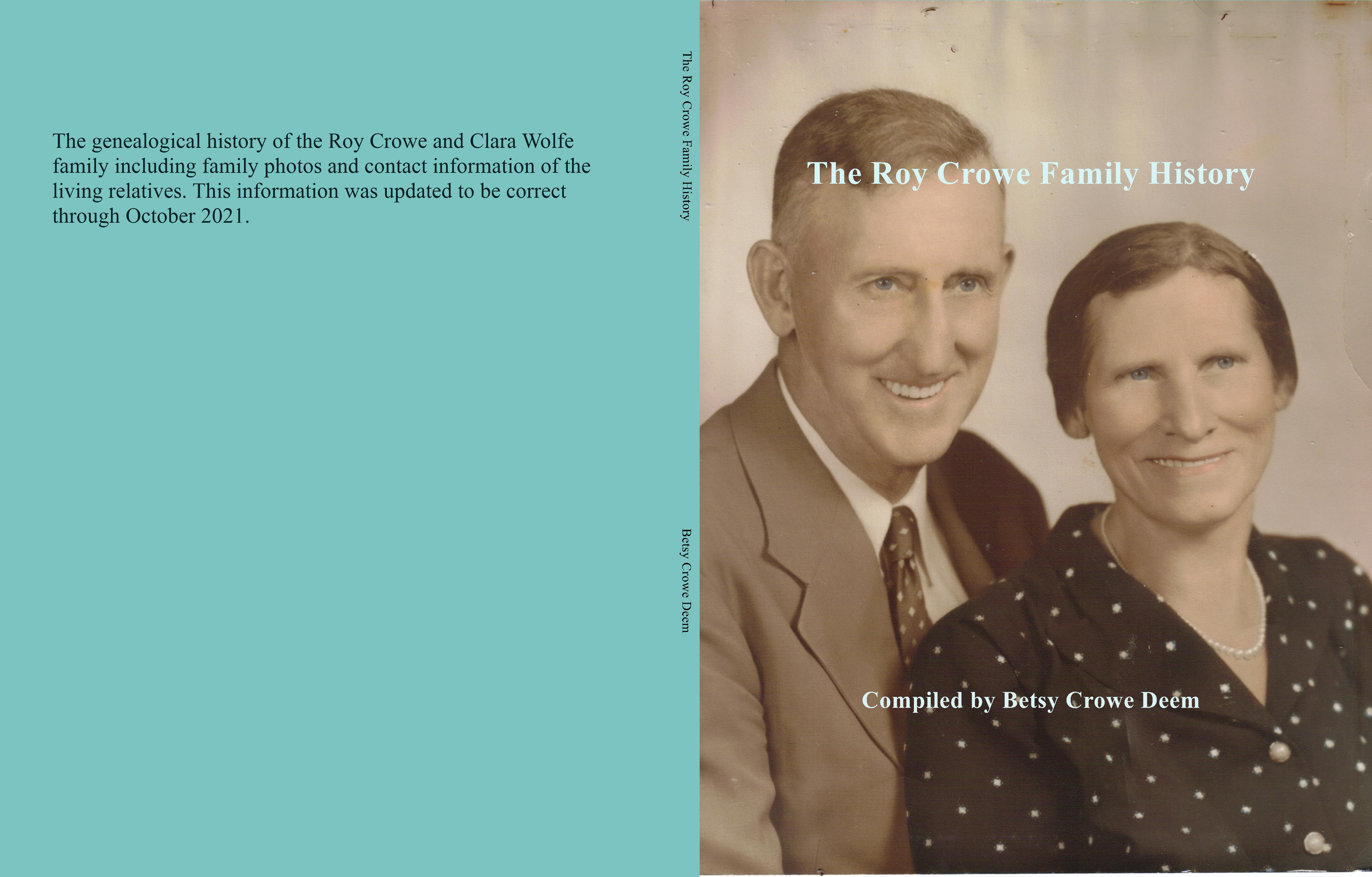 The Roy Crowe Family History cover image