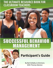 Successful Behavior Management Participant Guide cover image