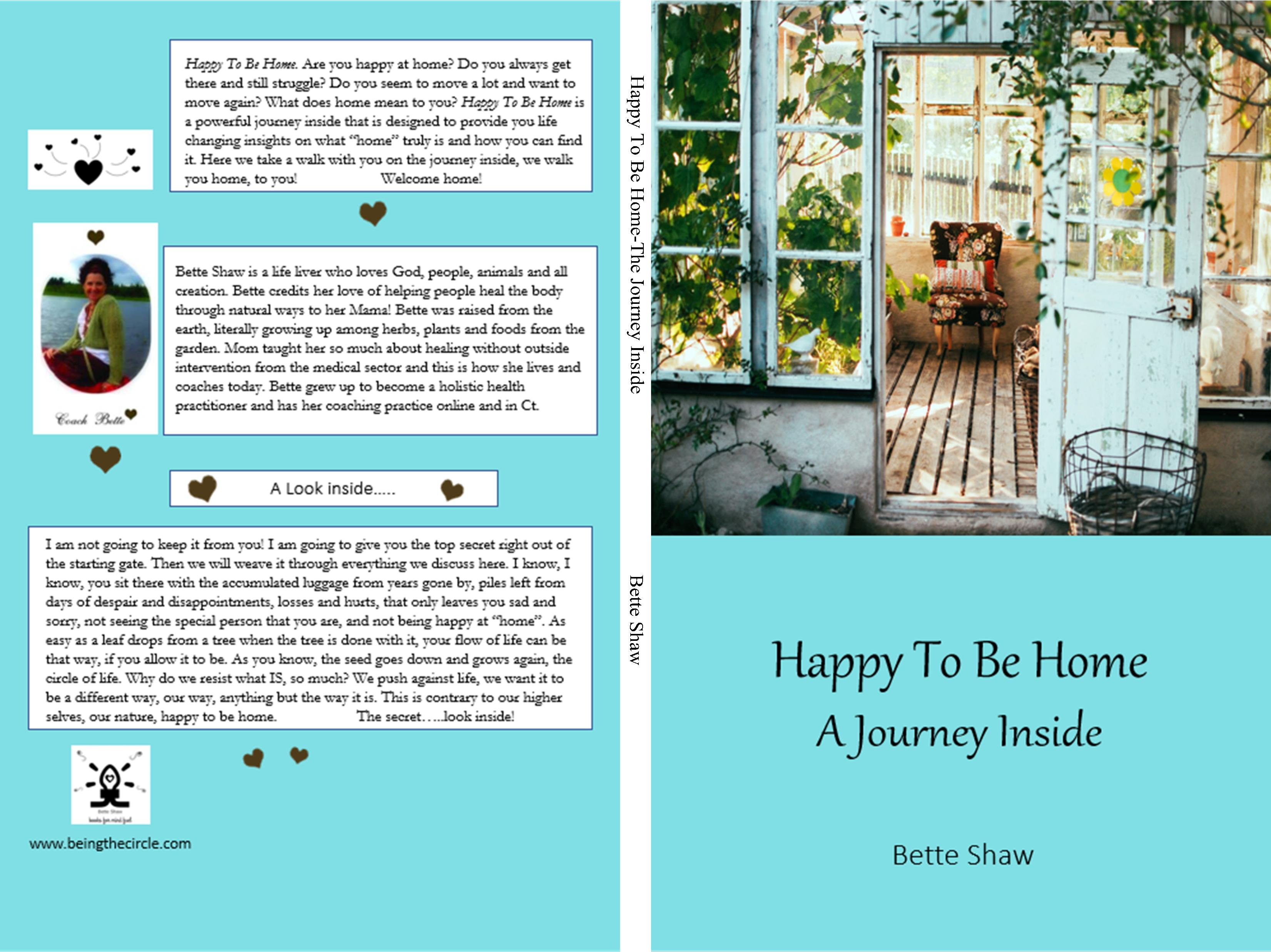 Happy To Be Home-The Journey Inside cover image