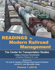 Readings in Modern Railroad Management, Vol. 1 cover image