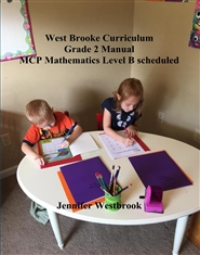West Brooke Curriculum Grade 2 Manual MCP Mathematics Level B scheduled cover image