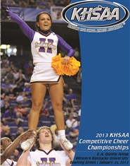 2013 KHSAA Competitive Cheer Championship Program cover image