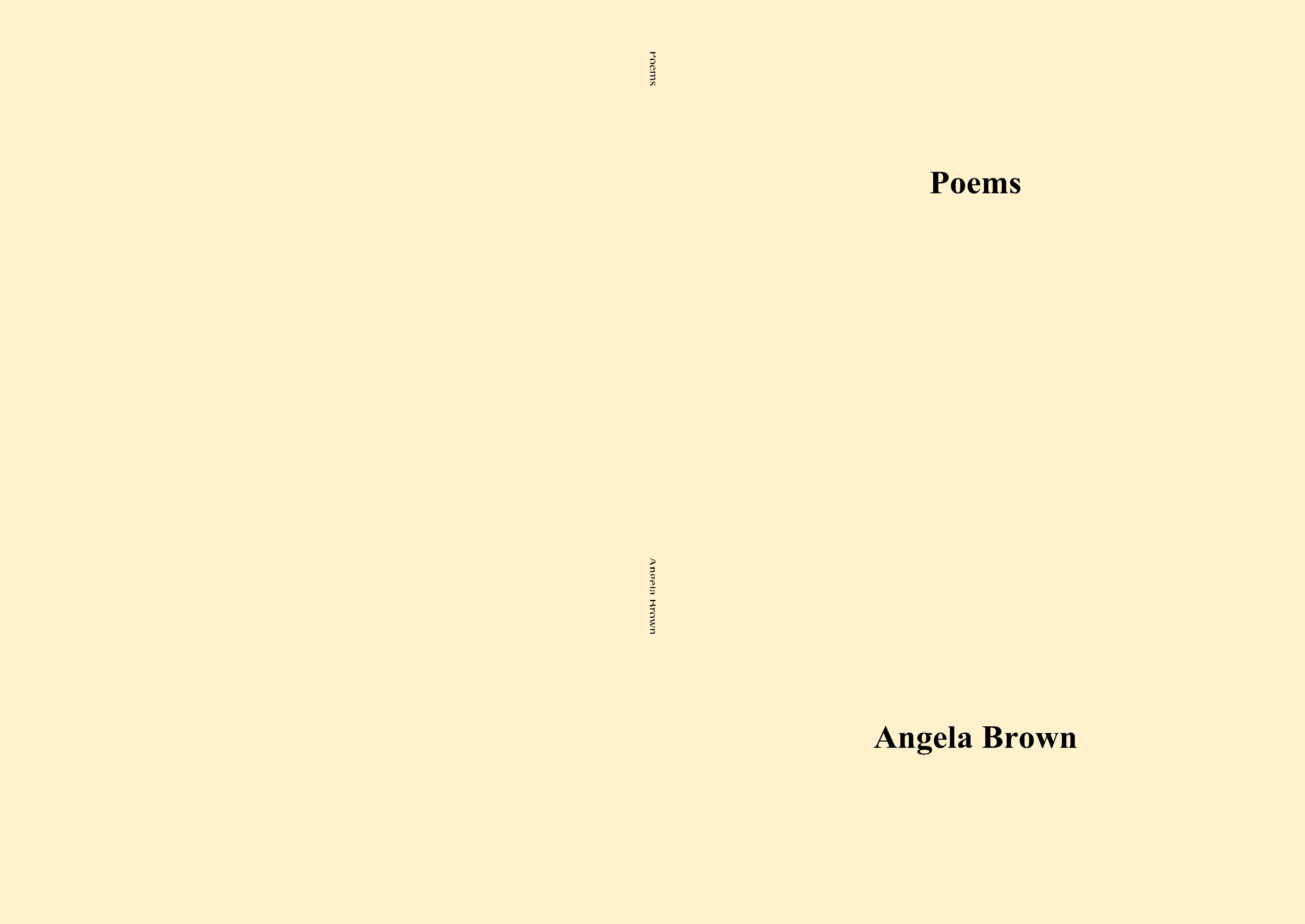 Poems cover image
