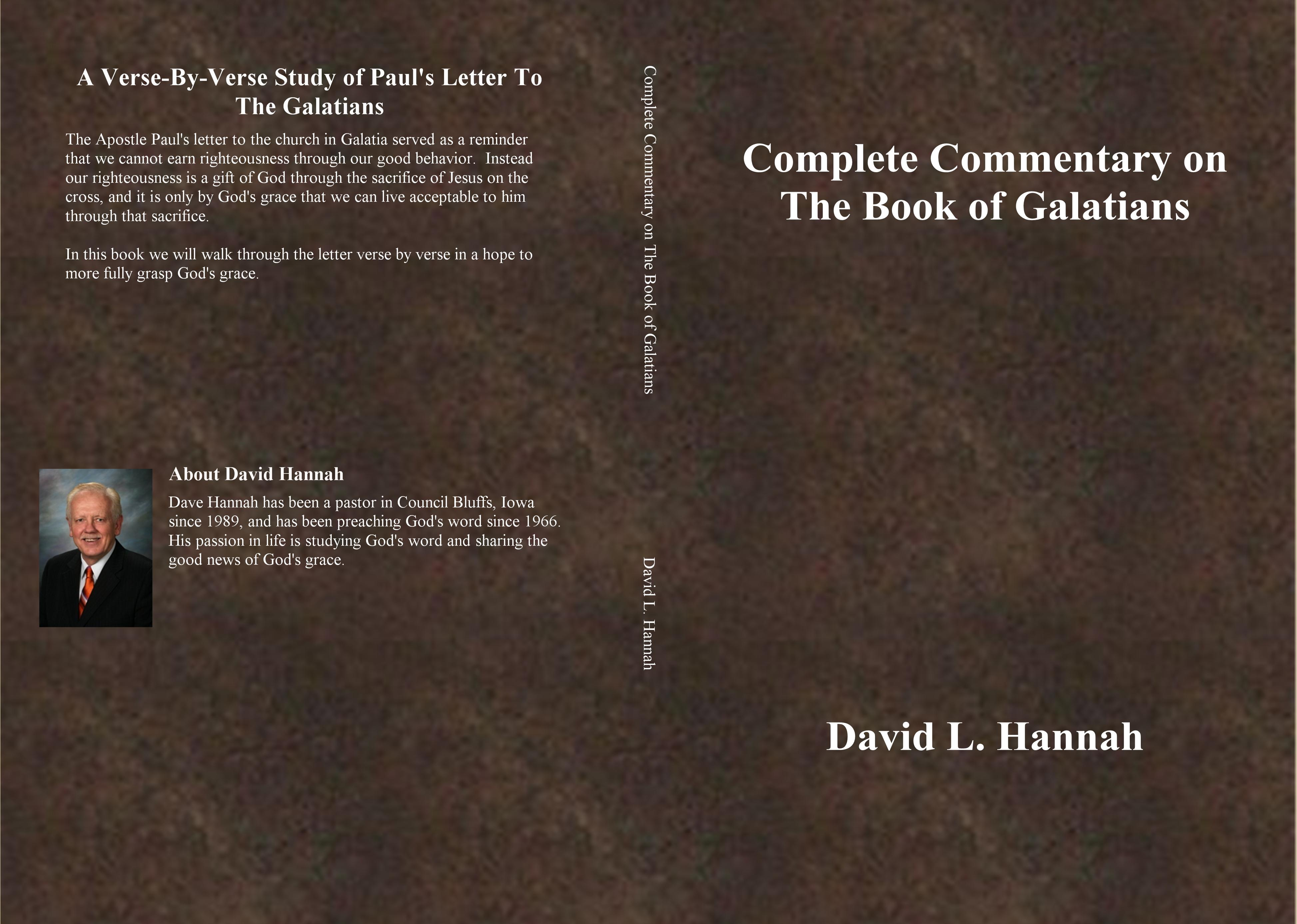 Complete Commentary on The Book of Galatians cover image