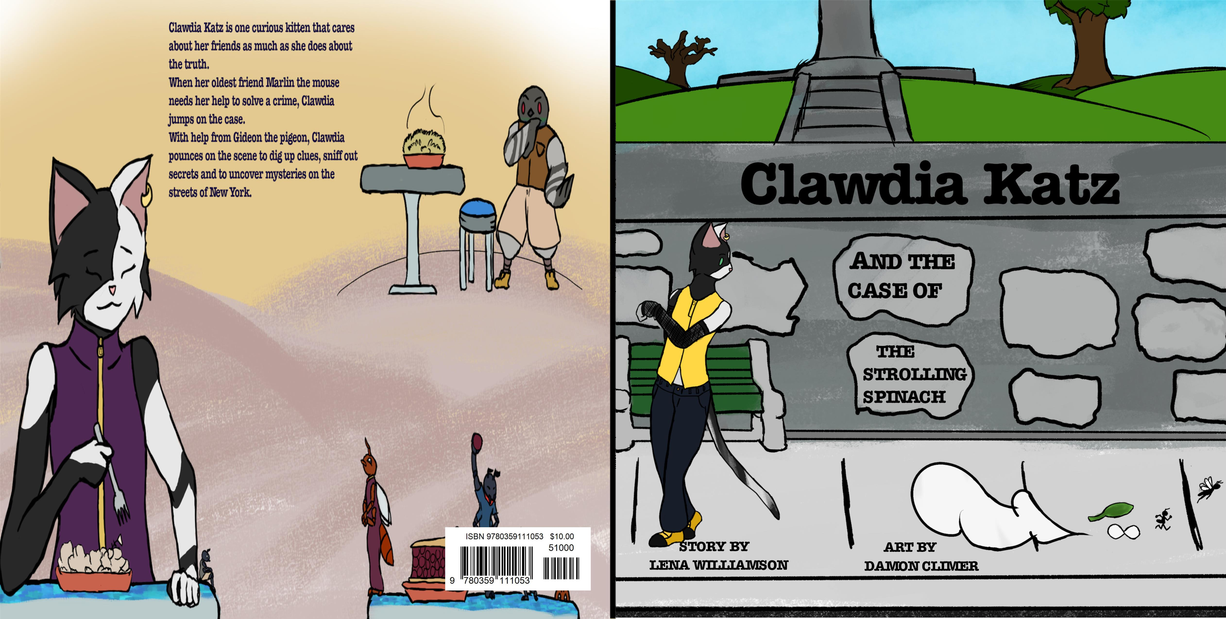 Clawdia Katz and The Case of the Strolling Spinach cover image