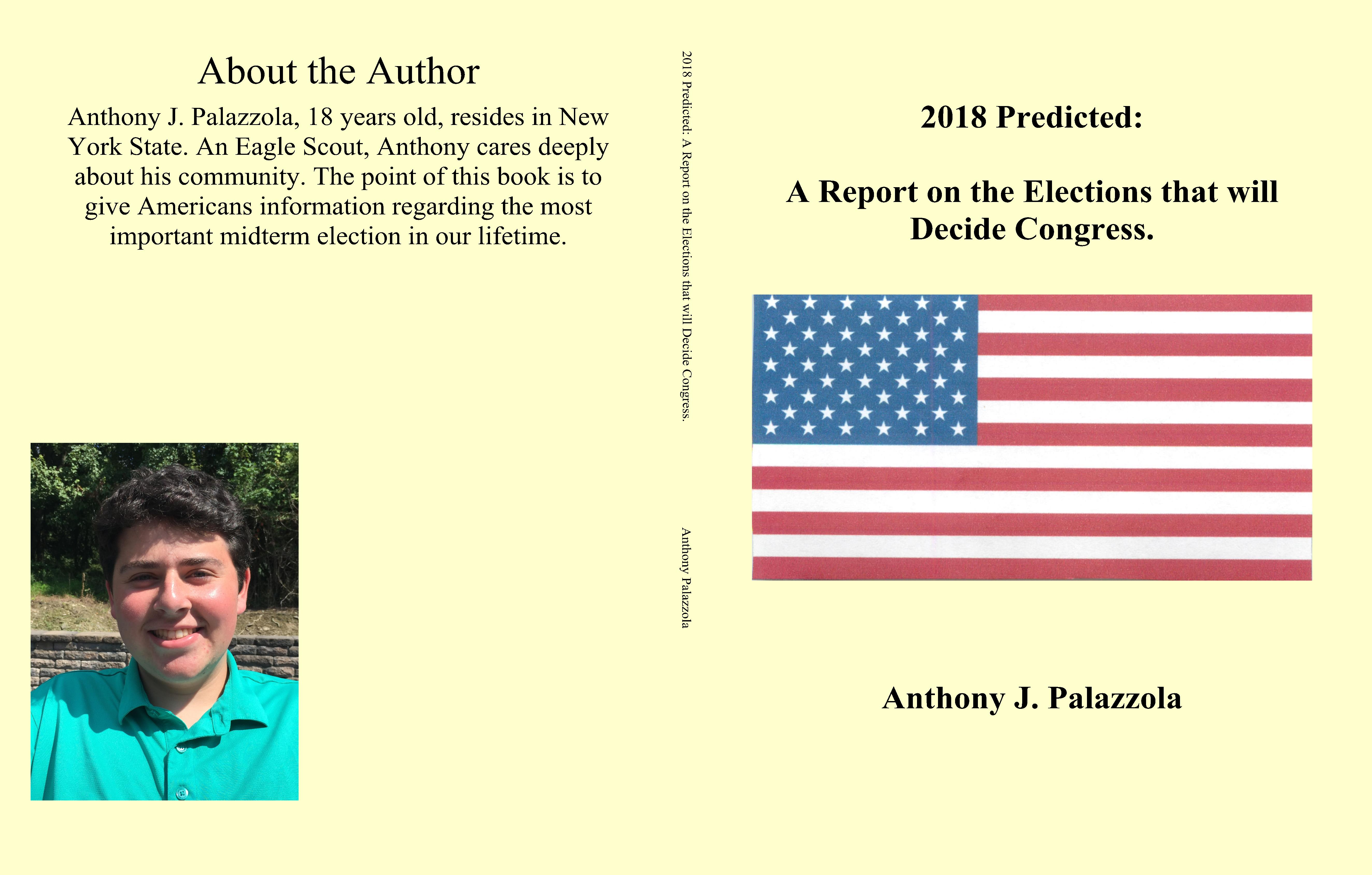 2018 Predicted: A Report on the Elections that will Decide Congress. cover image