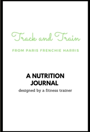 Track & Train Nutrition Journal cover image